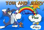 Kolorowanka tom i jerry