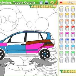 Kolorowanki Samochody Gry Kolorowanki I Gra Malowanki